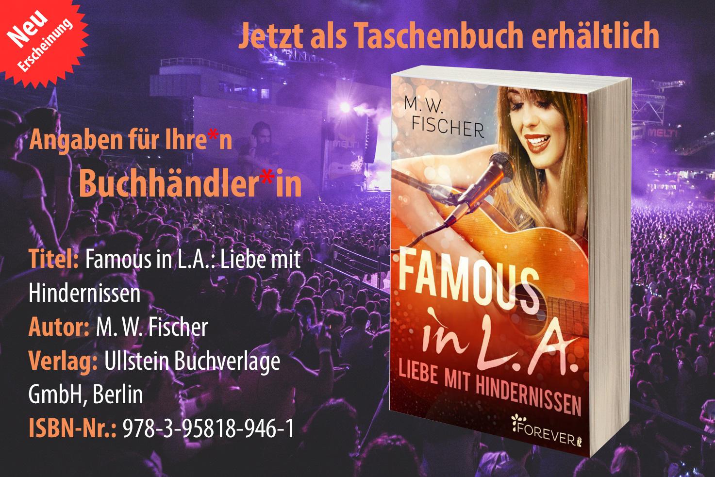 Taschenbuch-ISBN Famous in L.A.